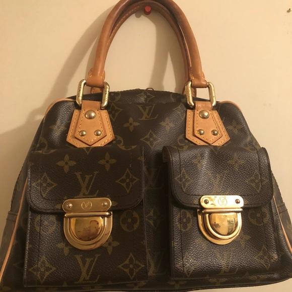 04e2cffb9 Louis Vuitton Bags | Authentic Manhattan Monogram Pm Bag | Poshmark